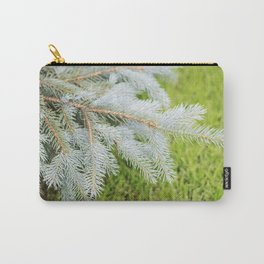 Blue Spruce Needles 21 Carry-All Pouch