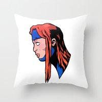 xmen Throw Pillows featuring x9 by jason st paul