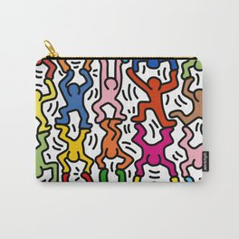 Homage to Keith Haring Acrobats II Carry-All Pouch