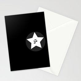 Om Star Stationery Cards