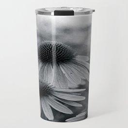 Cone Flowers Travel Mug