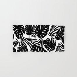 Urban Jungle White Hand & Bath Towel