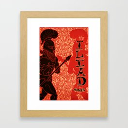 Homer's Iliad Framed Art Print