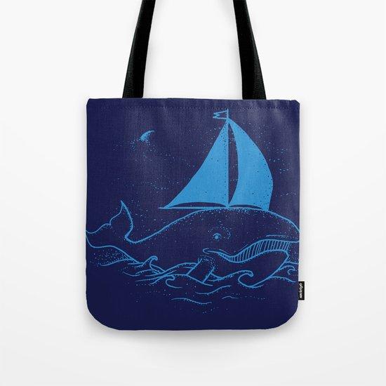 Whaleboat Tote Bag