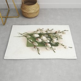 Vintage Pussy Willow Rug