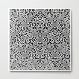 Special Damask Metal Print