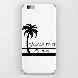 Golden-state of mind iPhone Skin