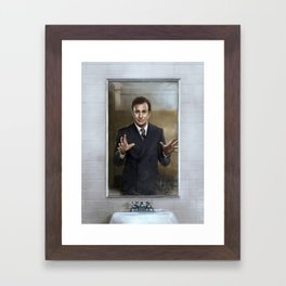 It's Showtime, Folks! Framed Art Print