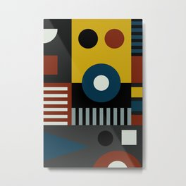 SPEECH AT THE BAUHAUS Metal Print