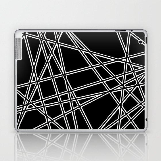 To The Edge Black #2 Laptop & iPad Skin