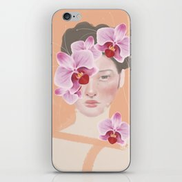 An Orchid Obsession iPhone Skin