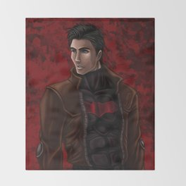 Red Hood / Jason Todd Throw Blanket