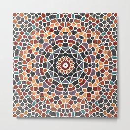Mosaic 4k Metal Print