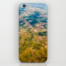 Land from the sky iPhone & iPod Skin