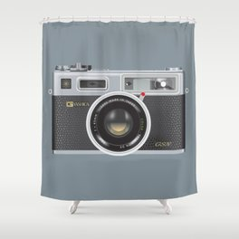 Yashica Electro 35 GSN Camera Shower Curtain
