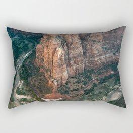 Zion Canyon Rectangular Pillow