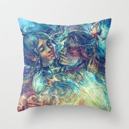 ZKW'17 - Underwater Throw Pillow