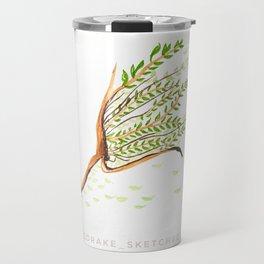 Run tree and be free Travel Mug