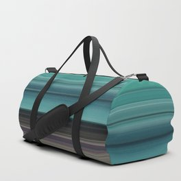 Teal and grey Duffle Bag