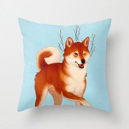 Luck-Bringer Throw Pillow