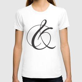 Ampersand 1 T-shirt