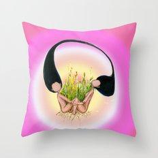 Garden of Hope Throw Pillow