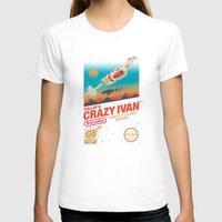 danny ivan T-shirts featuring Crazy Ivan by Victor Vercesi