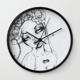 The Floral Deity Wall Clock