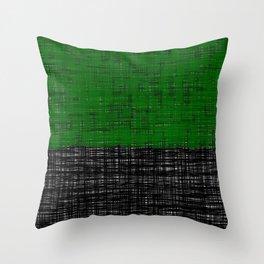 platno (green) Throw Pillow