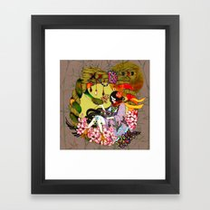 Kaguyahime Framed Art Print