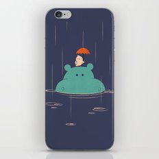 Raindrops iPhone Skin