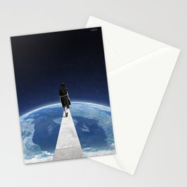 It's a long and lonely road ... Stationery Cards