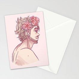 flower boy luke Stationery Cards