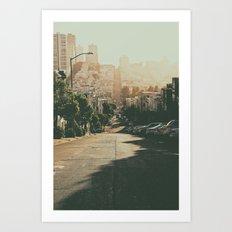 San Francisco-The Hills Art Print