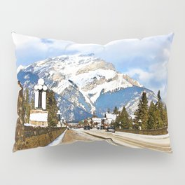 Cascade Mountain - Banff  Alberta Canada Pillow Sham