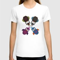 it crowd T-shirts featuring Owl Crowd by Adamzworld