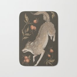 The Wolf and Rose Hips Bath Mat