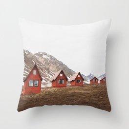 Hatcher Pass Throw Pillow