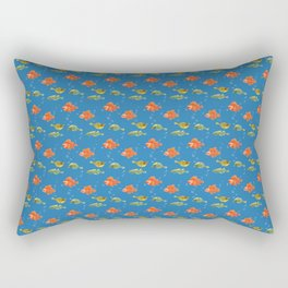 Just Some Pacific Fish Pattern Rectangular Pillow