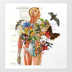 Muscles Art Print