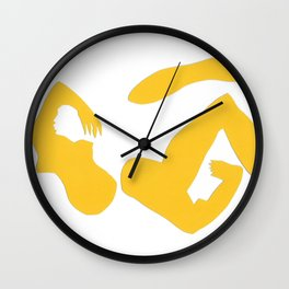 femme fractale Wall Clock