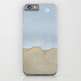 thames stone landscape blue sky moon 5478 iPhone Case
