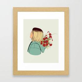 Flower Boy 02 Framed Art Print