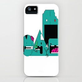 """Zombie Shapes""  iPhone Case"