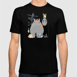 Studio Ghibli Gang T-shirt