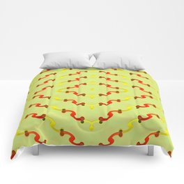 1508 Metallic pattern Comforters