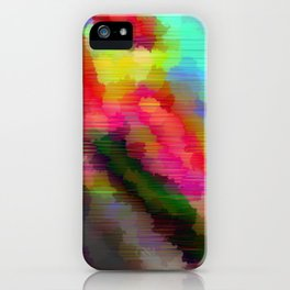 Striped Crystal iPhone Case