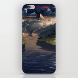 Under the Miky Way iPhone Skin