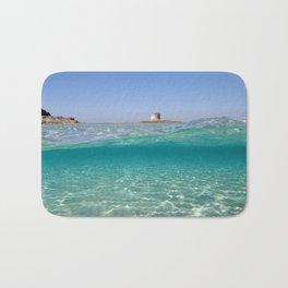 Sardinia, underwater Bath Mat