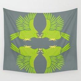 Kakapo - Endangered Wall Tapestry